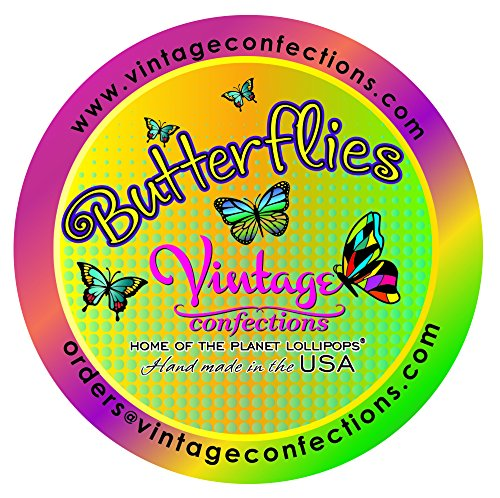 Vintage Confections Butterfly Lollipops