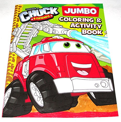 Tonka Chuck & Friends Boomer Bendon Coloring & Activity Book 96 Total Pages