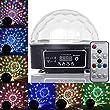 PMS� Disco DJ Lampe Magique Boule LED RGB Lumiere Effet Musique Projecteur Eclairage avec T�l�commande