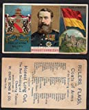 1888 Duke N126 Rulers, Flags, Arms of Nations (Non-Sports) Card# 3 baden Good Condition