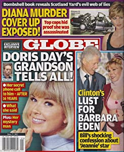 Doris Day, Princess Diana, Bill Clinton, Barbara Eden, Russell Crowe