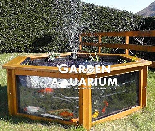 Designer aquarium preisvergleiche erfahrungsberichte for Aquarium im teich