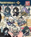 """Touken Ranbu Online Rubber Mascot 2"""" Full Complete Set of 8 Gashapon Tourabu"""
