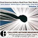 Great American Authors Read from Their Works, Volume 1: Great 20th-Century Authors Read from Their Works Audiobook by  Calliope Author Readings, James Baldwin, William Styron, James Jones, Philip Roth Narrated by James Baldwin, William Styron, James Jones, Philip Roth