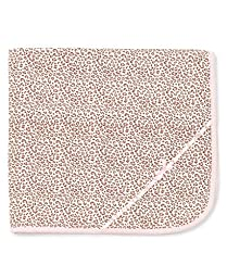Little Me Baby Girls' Leopard Tag Along Blanket, Pink, One Size