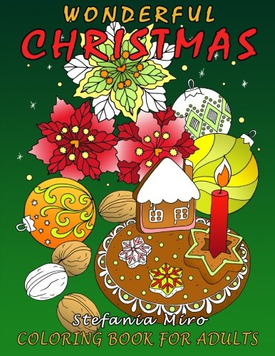 Wonderful Christmas Coloring Book for Adults