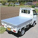 軽トラックシート♯2500 BT25-1824シルバー