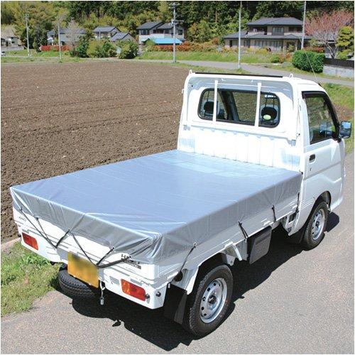 アイリスオーヤマ 軽トラックシート BT25-1821 シルバー