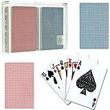 Trademark Poker Gemaco Standard Weave Design 2 Deck Set