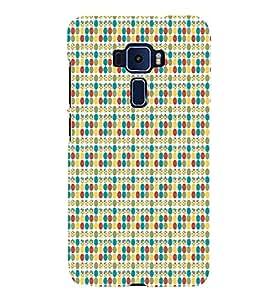 Skirt Dots 3D Hard Polycarbonate Designer Back Case Cover for Asus Zenfone 3 Deluxe ZS570KL