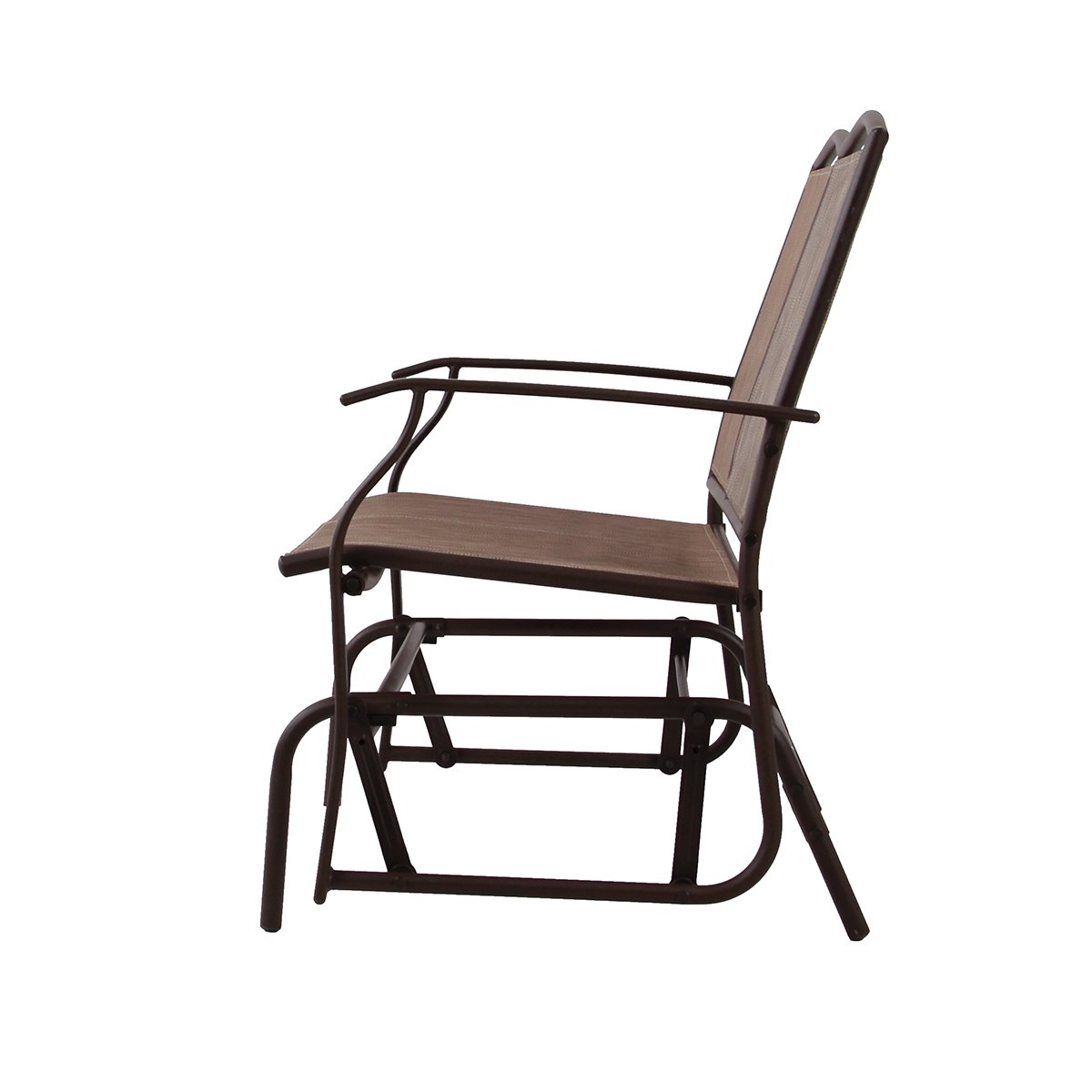 phi villa patio swing glider bench for 2 persons rocking chair