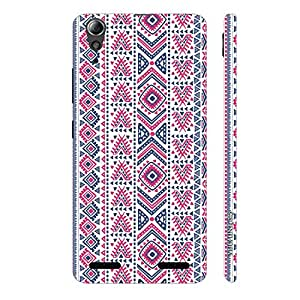 Enthopia Designer Hardshell Case Aztec Crossing Back Cover for Lenovo 6000 Plus