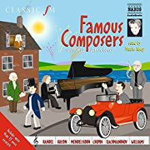 More Famous Composers Audiobook by Darren Henley Narrated by Marin Alsop