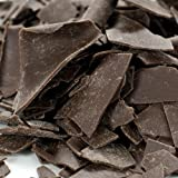 Dark Chocolate Shavings - Large Flat - 1 box - 4 lbs