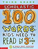100 Words Kids Need to Read by 3rd Grade (100 Words Workbook)
