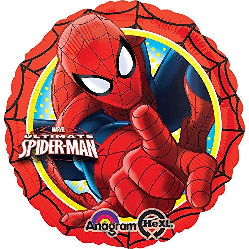 """Ultimate Spiderman Action 17"""" Foil Balloon (Each)"""