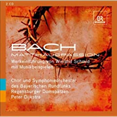 An Introduction To ? Bach, J.S.: St. Matthew Passion, Bwv 244: Jesus Und Seine Junger: Sinnbilder Des Leidens