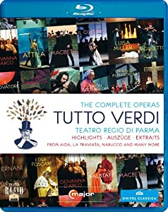 Tutto Verdi The Complete Operas Highlights Various Artists C Major 725704 Blu-ray from C Major