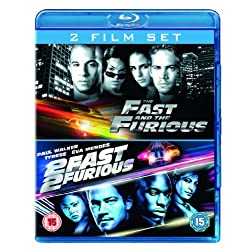 Fast & Furious/2 Fast 2 Furious [Blu-ray]