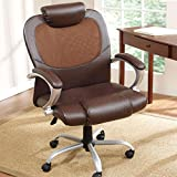 Plus+Size Living Brylanehome Extra Wide Mesh Back Office Chair With Headrest
