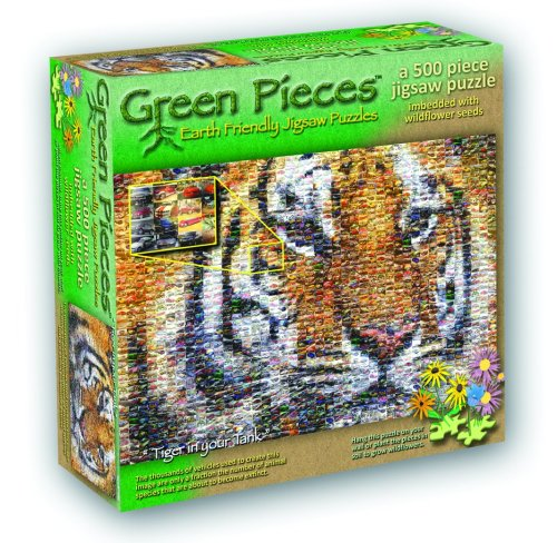 TDC Games Green Pieces Puzzle - Tiger In Your Tank