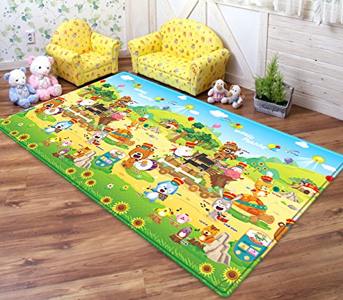 Dwinguler Eco Friendly Kid S Playmat Sound Play Mat With