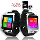 Indigi Factory UNLOCKED! SmartWatch&Phone Organizer+MP3+WiFi+Bluetooth - Free 32gb SD