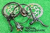 シマノ(SHIMANO)油圧 ディスクブレーキ BL-M445 BR-M447 SM-RT56セット ブラック 自転車パーツ