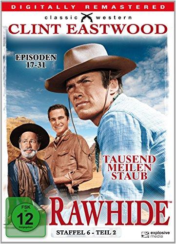 Rawhide - Tausend Meilen Staub - Season 6.2 [4 DVDs]
