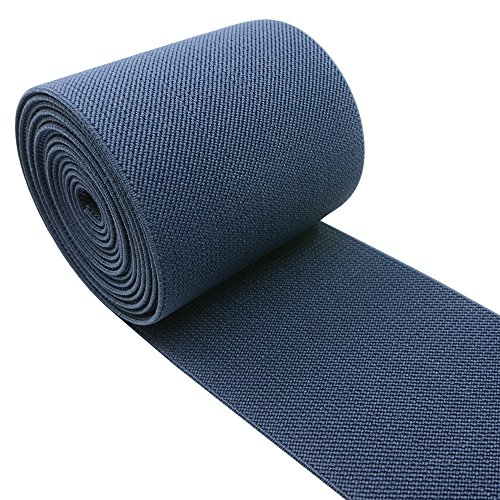 iCraft 3-Inch Wide by 2-Yard Colored Woven Elastic Band,Navy Blue (Wide Elastic For Sewing compare prices)
