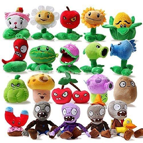 Toyswill® Plants Stuffed Zombies Plush Toy Set of 20(pcs)