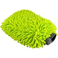 Chemical Guys MIC_493 Chenille Microfiber Premium Scratch-Free Wash Mitt (Lime Green)