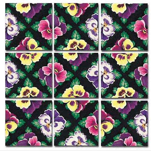 Scramble Squares: Pansies