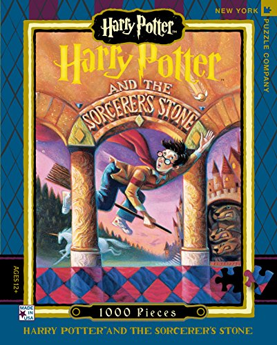 New York Puzzle Company - Harry Potter Sorcerer's Stone - 1000 Piece Jigsaw Puzzle (New York Puzzle Company 1000 compare prices)