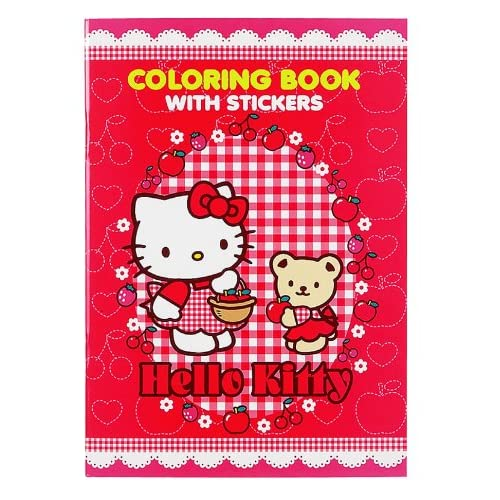 Japanese Sanrio Hello Kitty Coloring Book