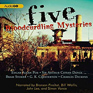 Five Bloodcurdling Mysteries Audiobook