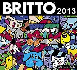 2013 Britto Wall Calendar