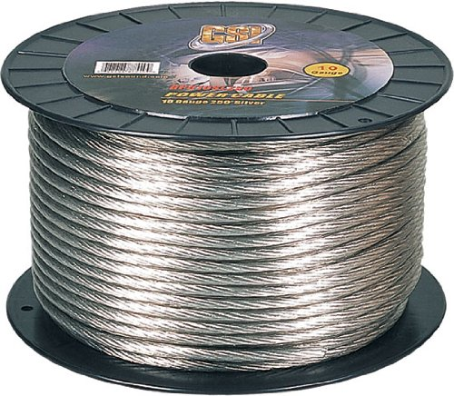 Gsi Gpc10Sl250 - 10 Gauge Power Ground Cables