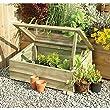 wooden vegetable trough