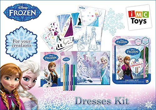 IMC Toys 16019 - Frozen Kit Disegno Abiti - Bambini