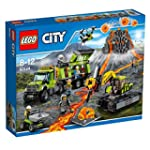 Lego City Volcano Exploration Base -...