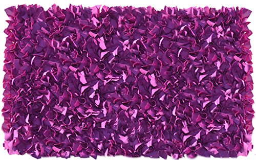 The Rug Market Shaggy Raggy Plum Area Rug  Size 2.7x4.7
