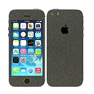 STICK_ME Glitter Full Mobile Skin Decal for IPhone 5 - Black