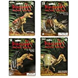 Dinosaur Perfect Replicas 4 Pk. Includes Dinosaur Teeth (Qty 2), Claw And Phalanx