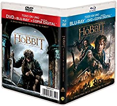 El Hobbit: La Batalla De Los Cinco Ejércitos (BD + DVD + Copia Digital) [Blu-ray]