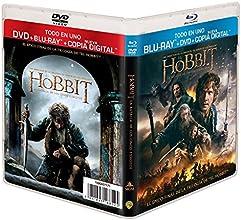 El Hobbit: La Batalla De Los Cinco Ejércitos (BD + DVD + Copia Digital) [Blu-ray]