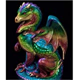 Dylan's cabin DIY 5D Diamond Painting Kits for Adults,Full Drill Embroidery Paint with Diamond for Home Wall Decor(dragon/16x12inch) (Color: dragon 1)