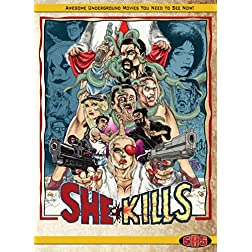 She Kills Limited Edition Bluray