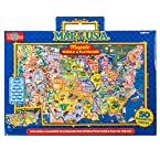 Magnetic USA Map Travel Puzzle