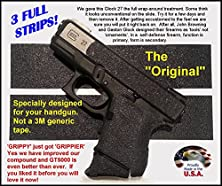 """buy Gt-5000 Grip Tape For Guns, Cell Phones, Cameras, Knives, Tools - Makes Anything """"Grippy""""."""